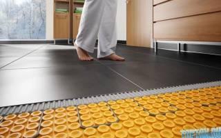 Как выбрать теплый пол под ламинат
