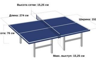 Теннисный стол как выбрать