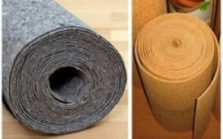 Какую подложку выбрать на бетонный пол под линолеум