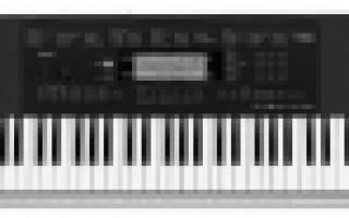 Как выбрать синтезатор для дома