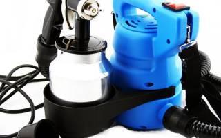 Как выбрать электрический краскопульт для домашнего пользования