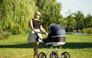 Как выбрать коляску для новорожденного летом
