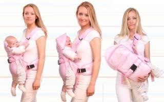 Как выбрать кенгуру для новорожденных