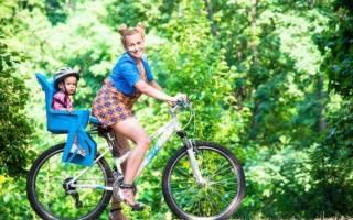 Кресло детское для велосипеда как выбрать