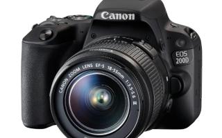 Какой выбрать фотоаппарат для профессиональной съемки