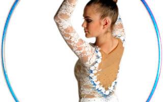 Как выбрать обруч для художественной гимнастики ребенку