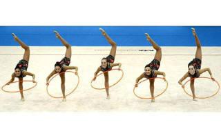 Как выбрать обруч для художественной гимнастики