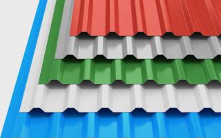 Какой выбрать профнастил для крыши гаража