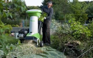 Какой выбрать садовый измельчитель для травы и веток