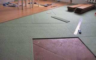 Какую подложку выбрать под ламинат на деревянный пол