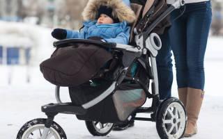 Какую коляску выбрать прогулочную на зиму