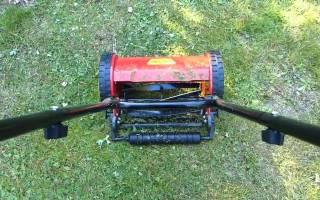 Как выбрать газонокосилку механическую