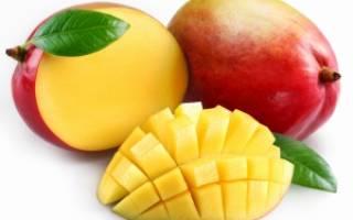 Как выбрать спелый плод манго