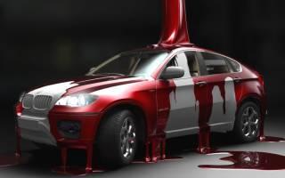 Какую выбрать краску для покраски автомобиля