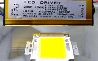 Драйвер для светодиодов как выбрать