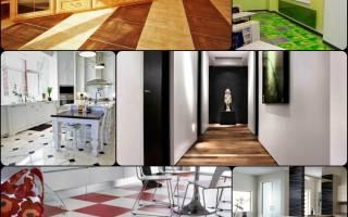Как выбрать напольную плитку для коридора и кухни