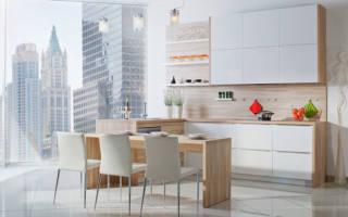 Какую выбрать столешницу для белой кухни