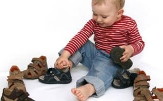 Сандали для ребенка как выбрать