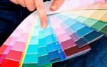 Цвет краски для стен в квартире как выбрать