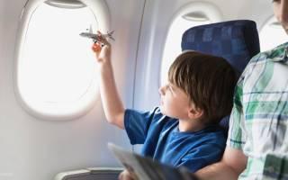 Какие места выбрать в самолете с ребенком